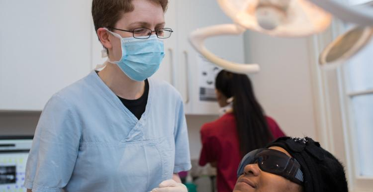 dentist treating a patient