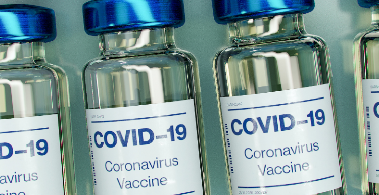 bottles of covid-19 vaccine