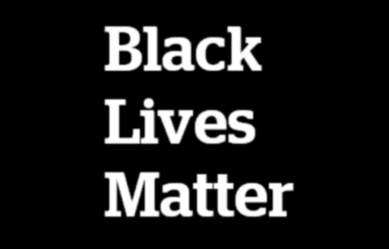 Black Lives Matter text
