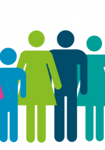 Group of people graphic